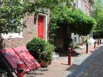 Elfreths Alley, Philadelphia royalty free stock image