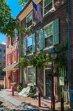 Elfreths Gasse, Philadelphia Stockfoto