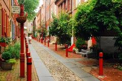 Elfreths gränd i Philadelphia Royaltyfria Foton