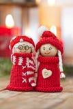 Elfs di Natale Fotografie Stock Libere da Diritti