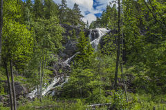 Elga falls (in Norwegian Elgåfossen) Royalty Free Stock Images