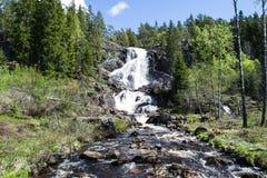 Elgafossen (Elga Watefall) photos libres de droits