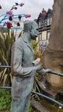 Elgar staty Malvern Arkivfoton