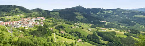 Elgeta panoramiczny widok Fotografia Royalty Free