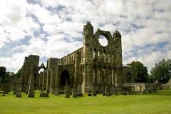 elgin Шотландия собора стоковые фотографии rf