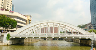 Elgin bridge, over the Singapore River Royalty Free Stock Images