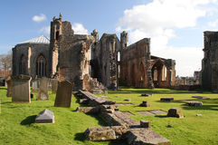 Elgin Cathedral stock photo