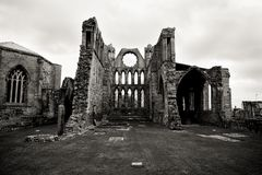 Elgin Cathedral Stock Photography