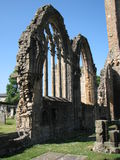 Elgin Cathedral Stockfoto