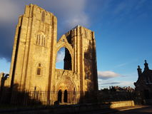 Elgin Cathedral Image stock