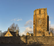 Elgin Cathedral in December sun. Stock Images