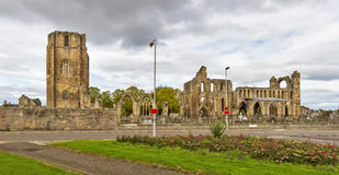 Elgin Cathedral Panoramic Image libre de droits