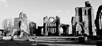 Elgin Cathedral Scotland Stock Photography