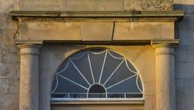 Elgin, Highfield-Haustür. Stockbilder