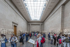 The Elgin Marbles in the British Museum Stock Photo