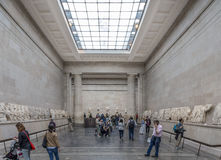 The Elgin Marbles in the British Museum Royalty Free Stock Photography
