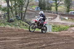 Elgin motocross practise. Royalty Free Stock Photos