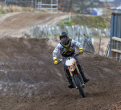 Elgin motocross practise. Stock Image