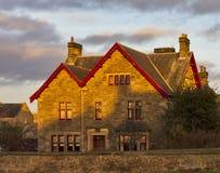 Elgin, Northfield terrace Sundown Stock Photography
