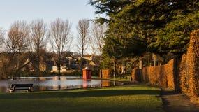 Elgins Fassbinder Park im Dezember. Lizenzfreie Stockfotografie