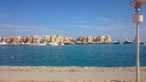 Elgouna Abu Tig marina Royalty Free Stock Images