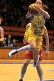 elhotovakaterina för basket tjeckisk spelare Arkivfoton