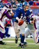 Eli укомплектовывая личным составом New York Giants Стоковое Изображение RF