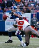 Eli укомплектовывая личным составом New York Giants Стоковые Фото