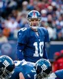Eli укомплектовывая личным составом New York Giants Стоковые Фотографии RF