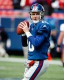 Eli укомплектовывая личным составом New York Giants Стоковое Фото