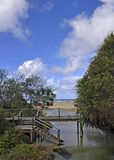 Eli Creek, Fraser Island stock fotografie
