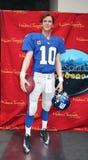 Eli Manning bij Mevrouw Tussauds Stock Afbeelding