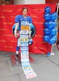 Eli Manning bij Mevrouw Tussauds Royalty-vrije Stock Foto