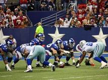 Eli Manning Calls Signals Stock Images