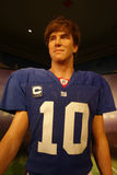 Eli Manning Wax Figure Royalty Free Stock Photos