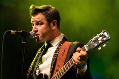 Eli Paperboy płocha Amerykański piosenkarz i kompozytor, wykonuje przy Barts sceną Fotografia Royalty Free