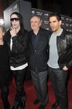 Eli Roth, Marilyn Manson, Wes Craven Royalty Free Stock Photography