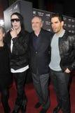 Eli Roth, Marilyn Manson, Wes Craven Fotografia Stock Libera da Diritti