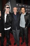 Eli Roth,Marilyn Manson,Wes Craven Stock Photos
