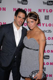 Eli Roth,Peaches Geldof Royalty Free Stock Photography