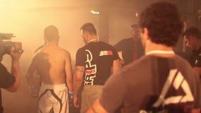 Elia Madau Italian MMA Fighter Stock Images