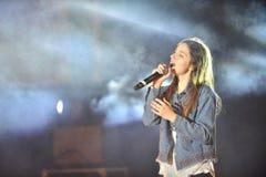 Eliana Tidhar piosenkarz i aktorka Fotografia Stock