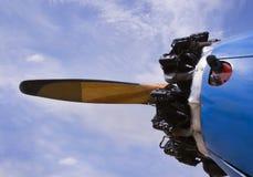 Elica del biplano di PT-13 Stearman Immagine Stock