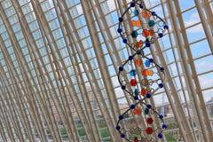 Elica del DNA nel museo di scienza, Valencia, Spagna Immagine Stock