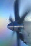 Elica dell'aereo di aria Fotografia Stock Libera da Diritti