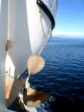 Elica della barca Fotografia Stock Libera da Diritti