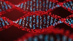 Elica girante del DNA illustrazione di stock