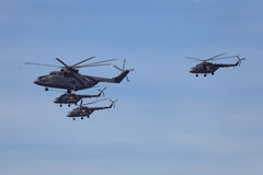 elicotteri Fotografia Stock Libera da Diritti