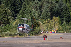 Elicotteri del combattente di fuoco Fotografie Stock Libere da Diritti