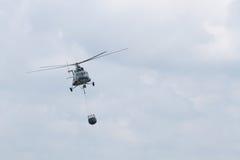 Elicottero antincendio Fotografia Stock Libera da Diritti